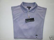 Van Heusen 50K8345513 Short Sleeve Men's Polo T-Shirt Purple Daybreak M MSRP $50