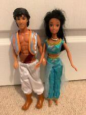 Disney Aladdin and Jasmine dolls