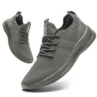 Men's Casual Shoes Walking Sports Breathable Mesh Athletic Sneakers Gym Running