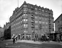 "1908 Spalding Hotel, Duluth, Minnesota Vintage Photograph 8.5"" x 11"" Reprint"
