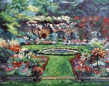 """Mark King """"Rose Garden"""" Art Print warhol haring Lichtenstein neiman dali hirst"""