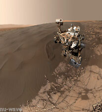 Self-portrait of NASA's Curiosity Mars Rover Shows the Vehicle at Namib Dune