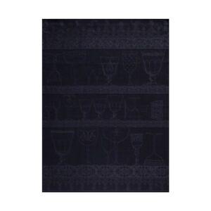 ♥ Le Jacquard Francais ♥ Geschirrtuch Gläsertuch Cristal Ardoise 60x80 leinen
