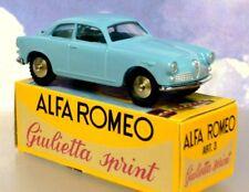 SUPERB HACHETTE DIECAST MERCURY TOYS ALFA ROMEO GIULIETTA SPRINT VELOCE IN  BLUE