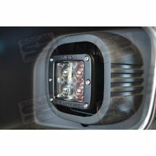 1999-2015 Ford Superduty LED Fog Light Conversion Kit w/ Rigid Dually Hyperspot