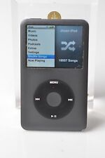 Black Apple iPod Classic 120Gb 7th Gen Perfect Hard Drive Exc Housing Flat Fedex