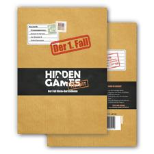 Krimi-Spielebox:Hidden Games Tatort Fall 1, 2, 3, 4, 5 oder Eiskaltes Verbrechen