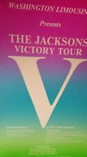 """The Jacksons Victory Tour 1984 Promo  Poster 14""""x22"""" WHILE SUPPIES LAST!"""