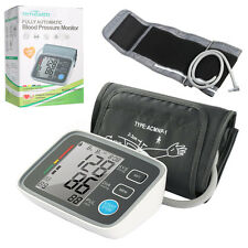 LCD Digital Blood Pressure Monitor Large Screen Automatic Check Upper Arm Wrist