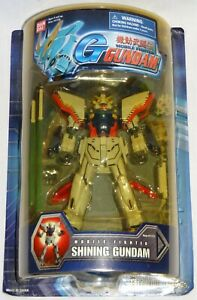 "Bandai Mobile Suit Fighter G SHINING GUNDAM 7.5"" Action Figure #11771 *MOC* MSIA"