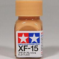 TAMIYA COLOR ENAMEL XF-15 Flat Flesh MODEL KIT PAINT 10ml NEW