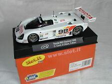 1/32 - Slot It SICA19a Scalextric - Toyota 88C Daytona 1989 - NIB