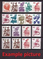 AM0491) Germany Berlin Accident Prevention Set MNH, 402-411+453 + C/D, 9N316-325