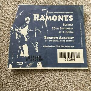Ramones  ticket Brixton Academy 25/09/94 #01206