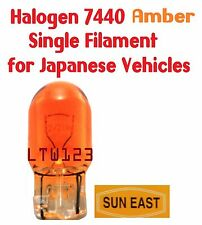 (10) Halogen 7440A Amber Single Filament for Japanese Vehicle