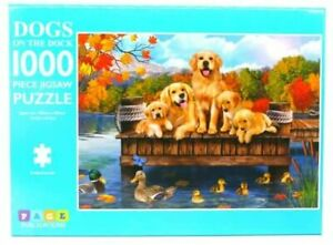 Page Publications Collection  Dogs on The Dock Puzzle Games Jigsaw Puzzles 1000