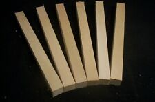 6 Piece Basswood Carving Wood Craft 1 x 1 x 12 inches Craft Lumber