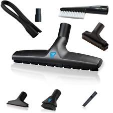 Wessel Werk Vacuum Cleaner Attachment Tool Kit 8-Piece Set Universal Parts Kit