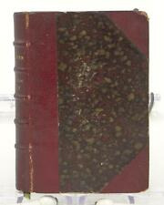 Mademoiselle Dafne Theophile Gautier 1881 Small Bibliotheque Book French Leather