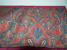"""New listing Vintage Mill Creek Cotton fabric, Road to Bombay, 3.5 yards 54"""""""