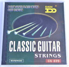CLASSICAL GUITAR STRINGS HARD TENSON gauges 028 045 nylon silver plated acoustic