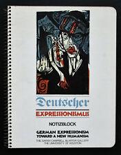 Campbell Blaffer gallery, Kirchner, beckmann # DEUTSCHER EXPRESSIONISMUS # 1977,