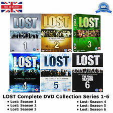 Lost : Series 1-6 Box Set Complete Collection 1 2 3 4 5 6 NEW & SEALED UK R2 DVD