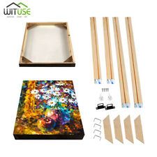Wooden Canvas Stretcher Frames Bar Kit For Professional Oil Painting Art 70Sizes