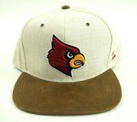 New MLB St. Louis Cardinals Baseball Brown Beige Weave Snapback Cap Hat Zephyr