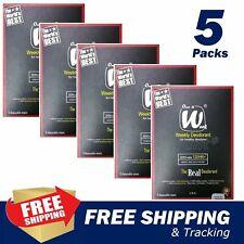 5 Pack (15 Wipe) Once A Week Weekly Deodorant cure Biological Body Underarm Odor