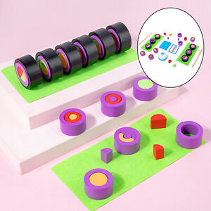 Wooden Pretend Play Food Toy Party Games Color Shape Sushi Matching Game