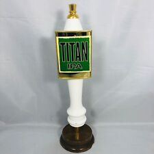 "Great Divide Titan IPA Wooden Beer Keg Tap Handle Double Sided 12"" Rare - HTF !"