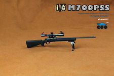 COOMODEL X80027 1:6 Remington M700PSS Sniper Rifle Weapon Toy Black