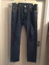 Mens Jeans de Levi 504 W 29 L 32