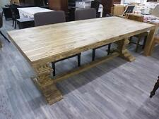 Esstisch 240 cm Klostertafel Tisch Tafel Landhaus rustikal braun massiv