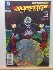 Justice League #10 Variant Edition D.C. Universe Comics CB4405