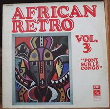 AFRICAN RETRO VOL.3 ORCHESTRE CERCUL JAZZ ET BANTOUS FRENCH LP PATHE 1977