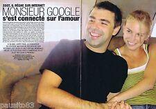 COUPURE DE PRESSE CLIPPING 2007 Larry Page (4 pages)