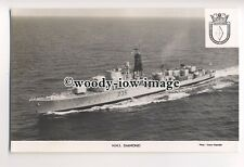 na4409 - Royal Navy Warship - HMS Diamond D35 - postcard