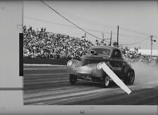 BIG JOHN MAZMANIAN A/GS AT LIONS   8X12 DRAG RACING PHOTO
