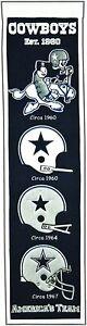 Dallas Cowboys NFL Football Team Heritage Banner