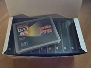 Maxell Professional DAT Tapes x 10 - 65min - Audio pro