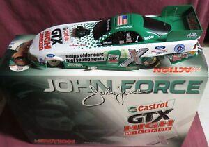 JOHN FORCE,  1/24 ACTION 2004 FUNNY CAR, CASTROL GTX HIGH MILEAGE