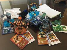Skylanders Swap Force Set With 5 Characters & Base