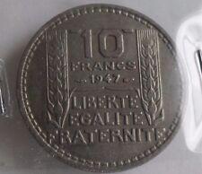 10 francs turin 1947  petite tête : SUP : pièce de monnaie française