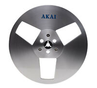 "(2) NEW 7"" 7 Inch Akai ATR-7M Metal Reels for Tape Recorder (Grade A+ MINT)"
