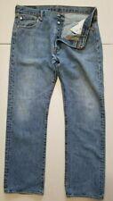Levi's 501 36x32 Straight Fit Denim Blue Jeans Button Fly 100% Cotton Egypt