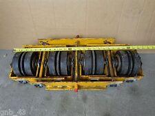Surplus Continental Conveyor Four Roller Adjustable Idler Group