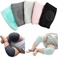 Unisex Baby Toddlers Kneepads, 5 Pairs Adjustable Knee Elbow Pads Crawling by