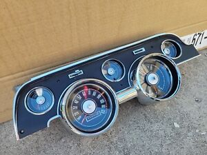 1967 Ford Mustang Dash Cluster Reconditioned 67
